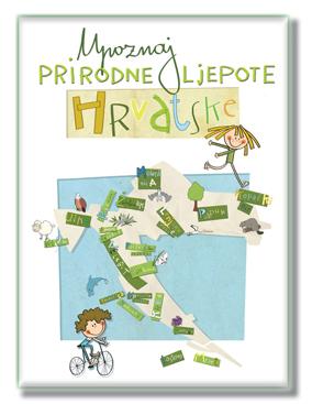 Upoznaj prirodne ljepote Hrvatske - edukativne kartice