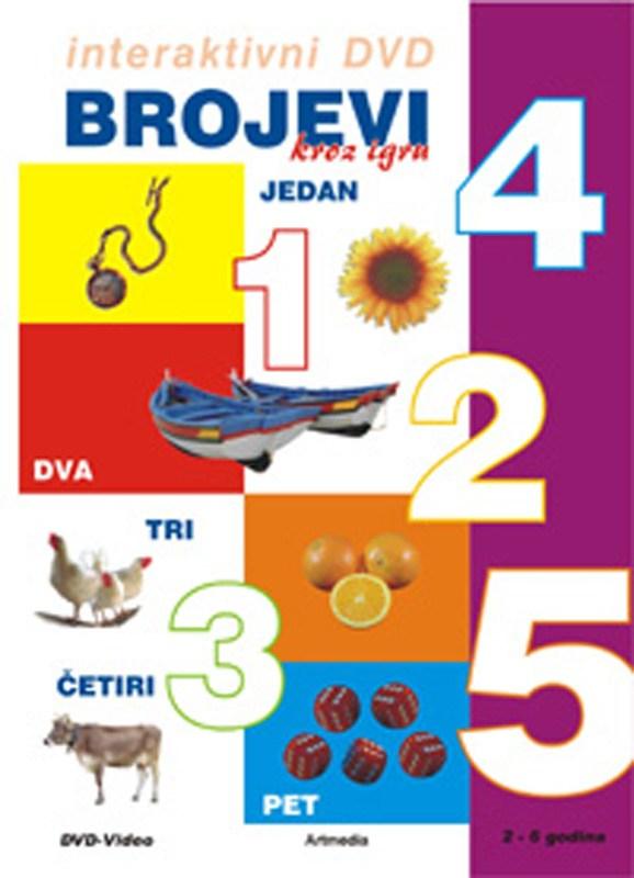 DVD Brojevi kroz igru